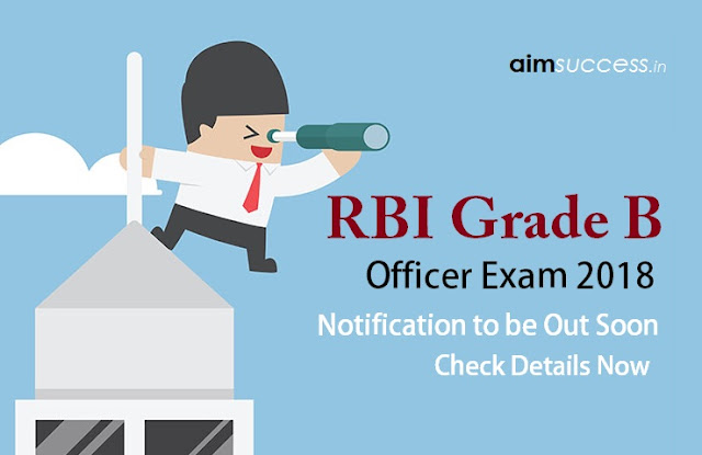 RBI Grade B 2018 Notification