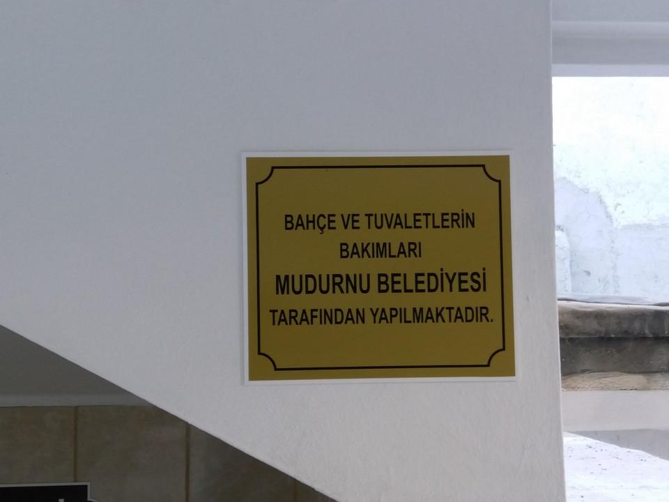 Mudurnu Büyük Cami Tuvalet