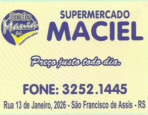 Promoções válidas até Quarta-feira no Supermercado Maciel