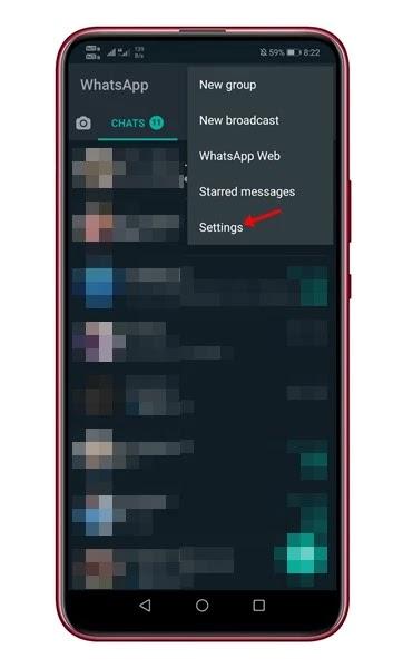 تغيير رقم الهاتف في واتس اب دون فقدان الدردشات والملفات