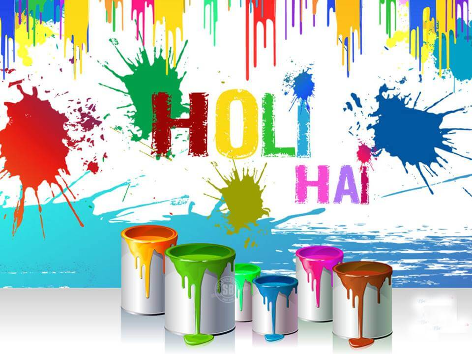Happy Holi HD Wallpapers for Mobile