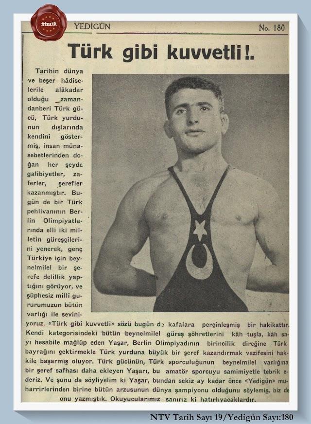 Türkiye'nin olimpiyatlardaki ilk altın madalyasıni kazanan sporcu?