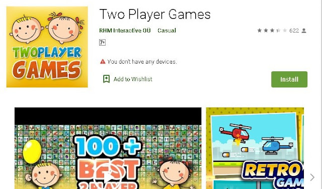 multiplayer games in one android.