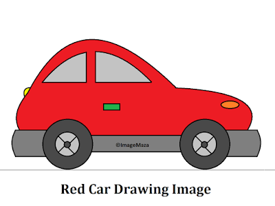 Car Drawing Image red, Car Drawing for kids, how to draw car, car png images