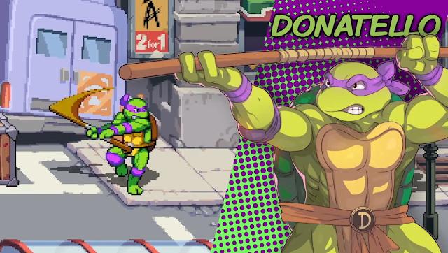 Donatello Teenage Mutant Ninja Turtles Shredder's Revenge Nintendo Switch artwork