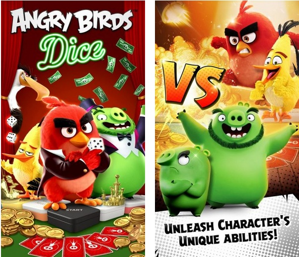 Angry Birds: Dice Mod Apk v1.1.100347 (Free Purchase)