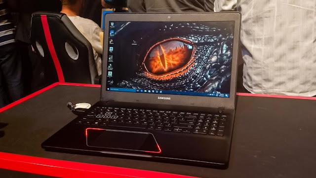 qualidade de imagem da tela notebook gamer samsung odyssey