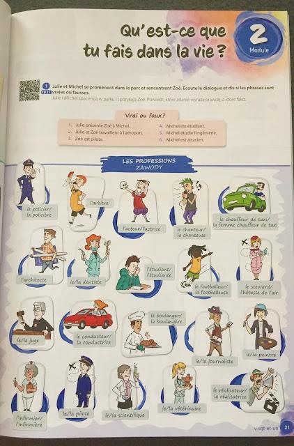 """Recenzje #149 - """"Allez, on y va ! 1"""" - przykładowa strona podręcznika - Francuski przy kawie"""