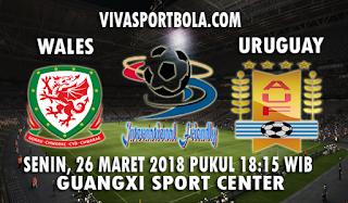 Prediksi Wales vs Uruguay 26 Maret 2018