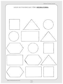 atividades matematica formas geometricas