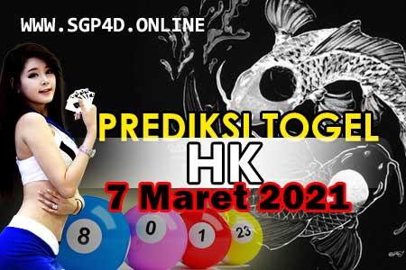 Prediksi Togel HK 7 Maret 2021