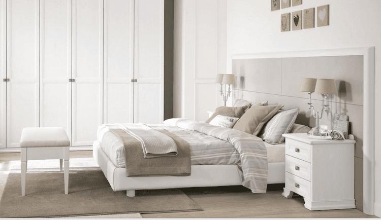 muebles blanco de diseño dormitorio