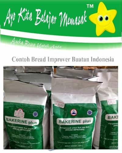 Contoh Bread Improver buatan Indonesia
