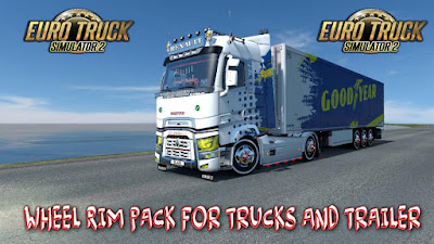 Wheel Rim Pack for trucks and Trailers 1.36