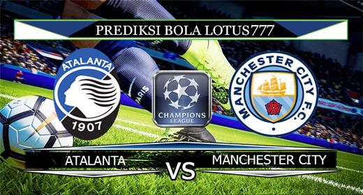 PREDIKSI BOLA  ATALANTA VS MANCHESTER CITY 7 NOVEMBER 2019
