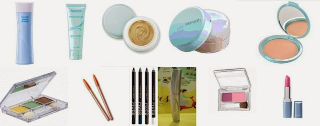 Produk Wardah Make Up Series