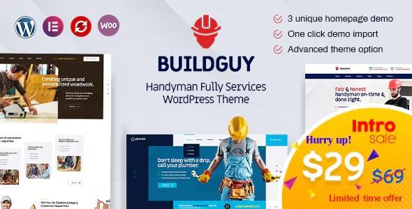 Best Handyman Services WordPress Theme
