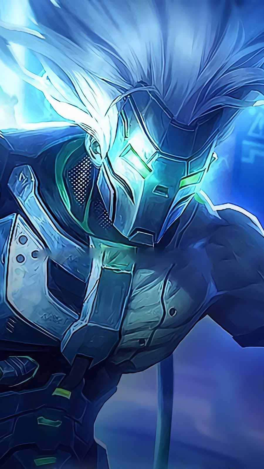 Wallpaper Moskov Decapitator Skin Mobile Legends HD for Android and iOS