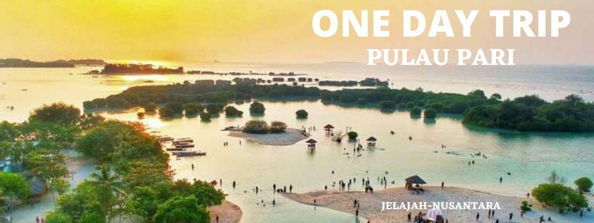 open trip satu hari pulau pari