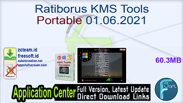 Ratiborus KMS Tools Portable 01.06.2021 Windows & Office Activator