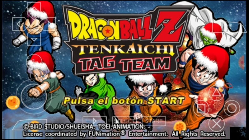 Dragon Ball Z Christmas Special Tenkaichi For PSP Android