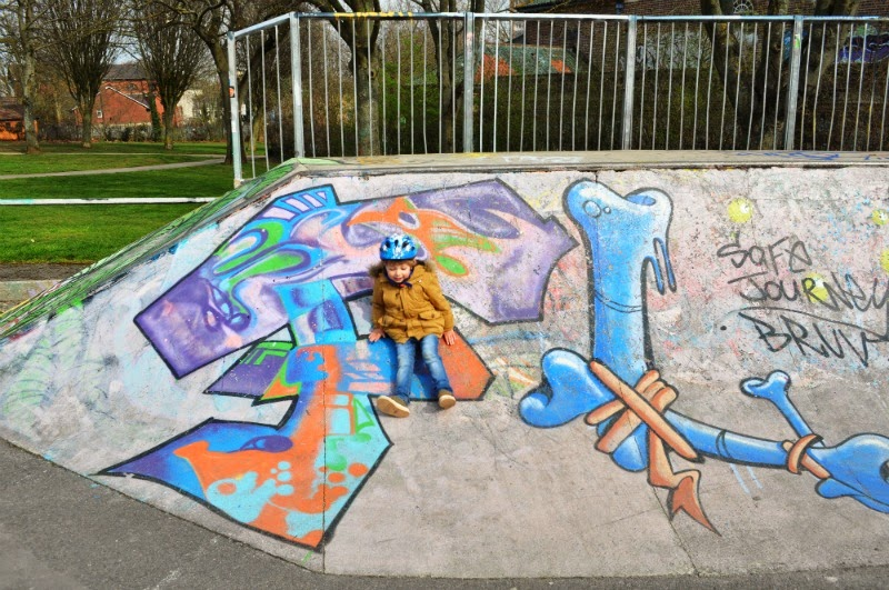 Urban Papermonster Stencil Graffiti Artist