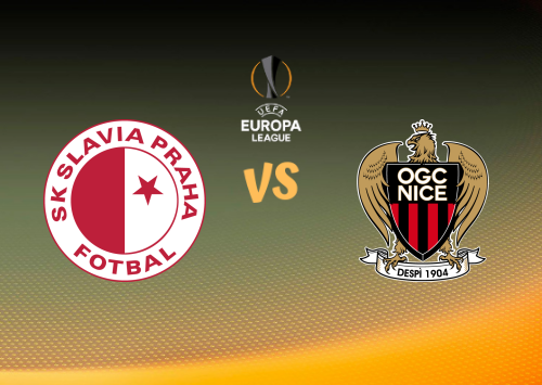 Slavia Praha vs Nice  Resumen