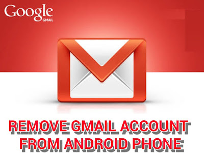 Remove gmail from Android device gmail app