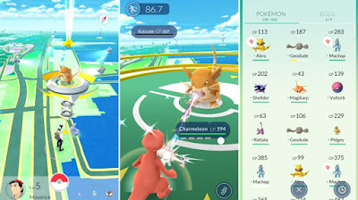 Screenshot Pokemon GO APK