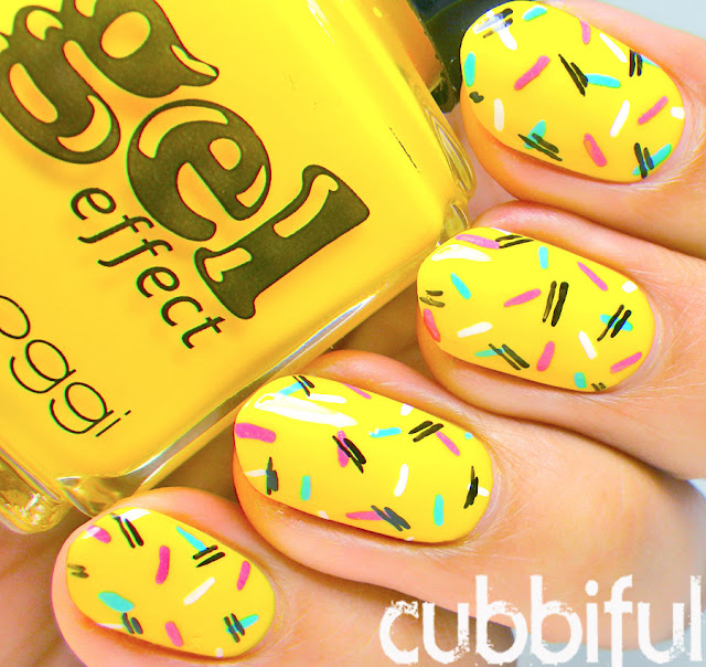 Bellaoggi Gel Effect No.34 Sunshine Yellow