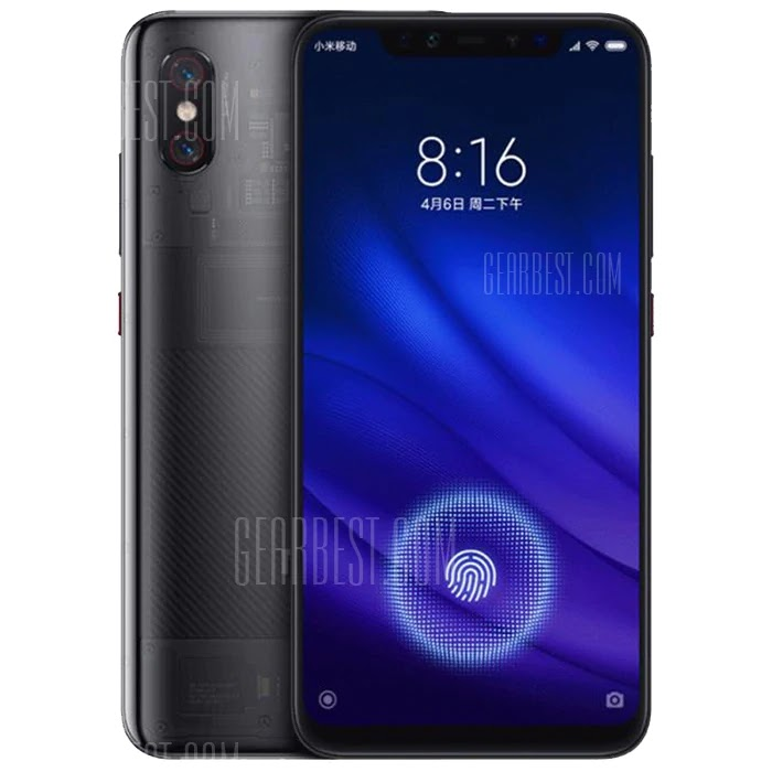 Xiaomi Mi 8 Pro 4G Phablet Global Version Coupon