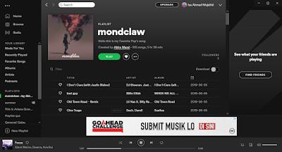 Cara Memberi Sampul pada Playlist Spotify