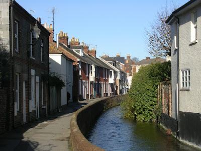 Salisbury, Regency, England, River Avon