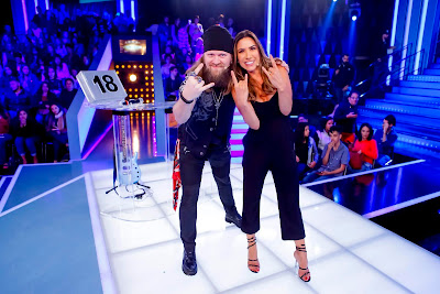 Patricia e Paulo César (Foto: Gabriel Cardoso/SBT)