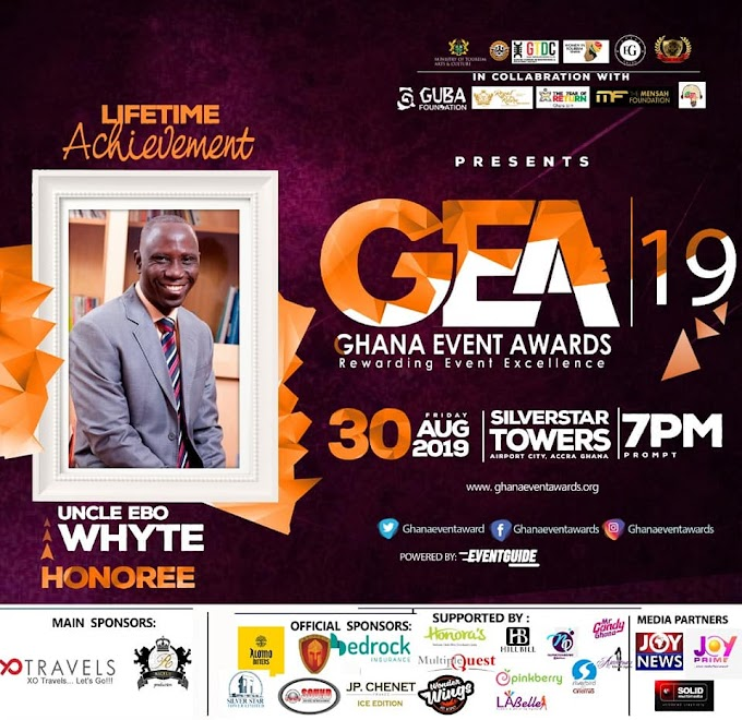 KOD, Uncle Ebo Whyte and Santokh Singh to be honored at 2019 Ghana Event Awards