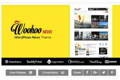 Download Theme Wordpress News Magazine Woohoo