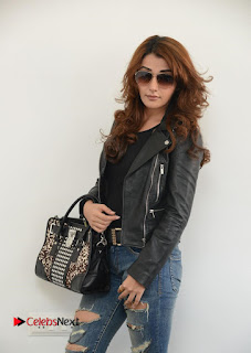 Actress Sonia Mann Latest Picture Gallery in Ripped Jeans  0024