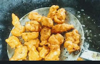 Deep frying chicken for chicken 65 recipe
