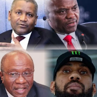 Dangote, Tony Elumelu, Phyno to end protests