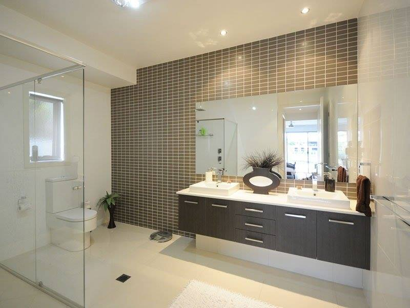 28 modern bathroom design trends for 2016 with amazing for Modern small ensuite