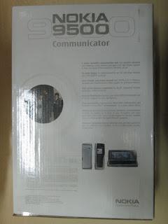 Dus Nokia 9500 Communicator Seken Mulus