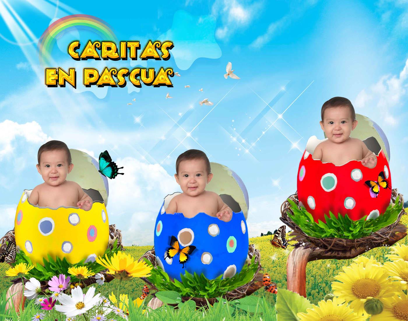 group of caritas en psd gratis