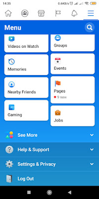 xiaomiintro facebook android profile