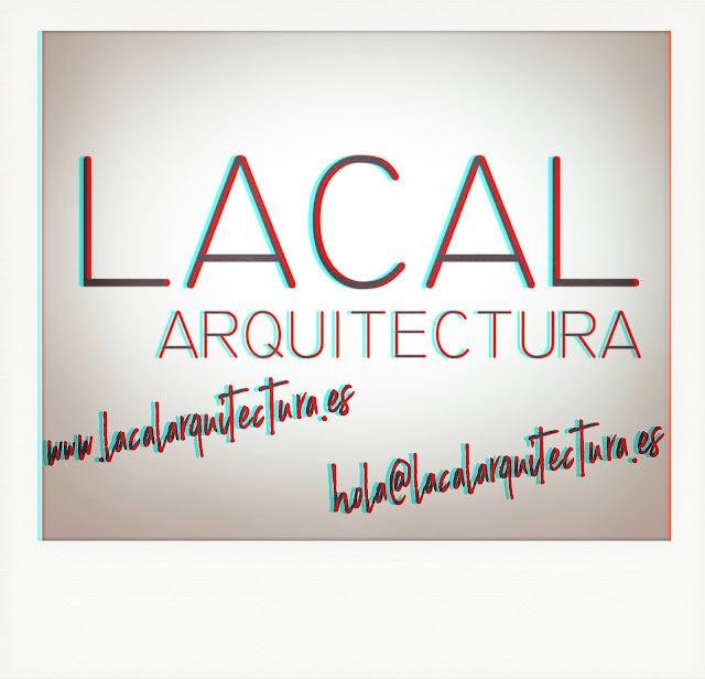 LACAL arquitectura. Arquitectos Granada. Javier Antonio Ros López, arquitecto. Daniel Cano Expósito, arquitecto. LACAL arquitectura Logo