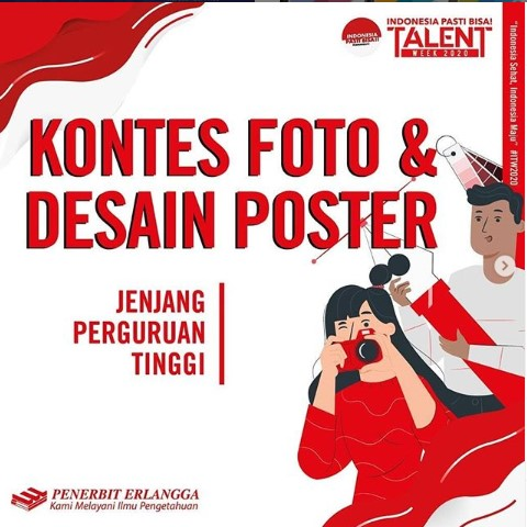 Lomba Foto dan Desain Poster Nasional 2020, Gratis