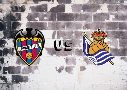 Levante vs Real Sociedad  Resumen