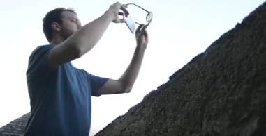 trik filter dengan kacamata