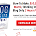 How To Make $10,000 Per Month Working On Your Blog Only 2 Hours Per Day