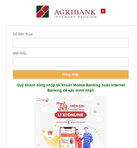 """Điều tra thông tin giả mạo """"Agribank E-Mobile Banking lừa đảo chiếm đoạt tài khoản."""