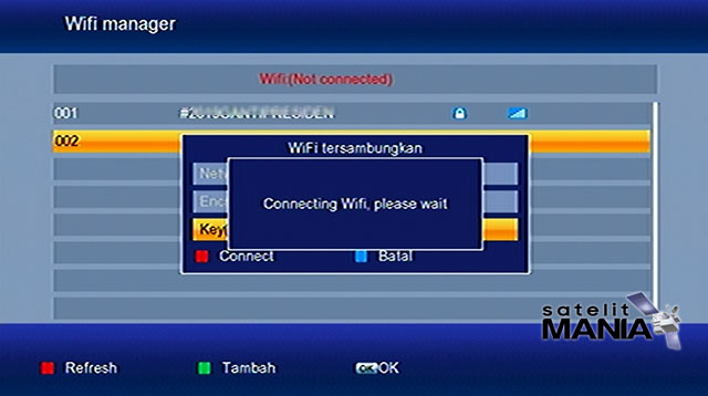 Cara Menghubungkan Wifi ke Receiver Tanaka HD